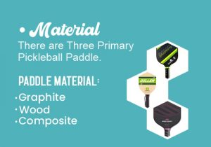 Material of paddle